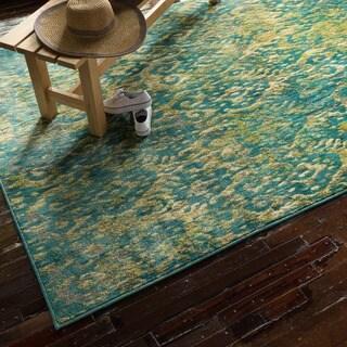 Skye Monet Lagoon Rug (7'7 x 10'5)