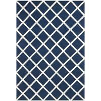 Safavieh Handmade Moroccan Chatham Dark Blue Wool Rug - 3' x 5'