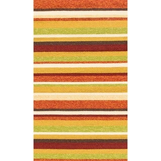 Hand-hooked Indoor/ Outdoor Capri Sunset Rug (2'3 x 3'9)