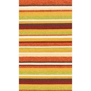 Hand-hooked Indoor/ Outdoor Capri Sunset Rug (2'3 x 3'9)