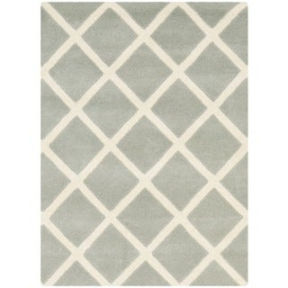 Safavieh Handmade Moroccan Chatham Gray Wool Accent Rug (2' x 3')