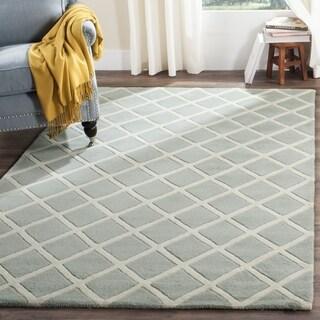 Safavieh Handmade Moroccan Grey Wool Area Rug (3' x 5')