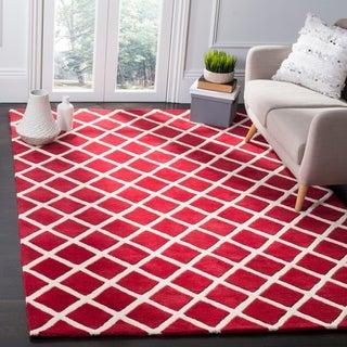 Safavieh Handmade Moroccan Chatham Red Wool Rug (8' x 10')