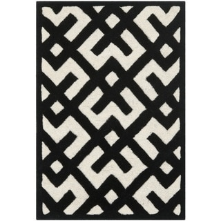 Contemporary Safavieh Handmade Moroccan Chatham Ivory Wool Rug (2' x 3')