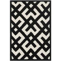 Contemporary Safavieh Handmade Moroccan Chatham Ivory Wool Rug - 2' X 3'