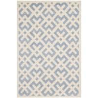 Safavieh Handmade Moroccan Blue Geometric Wool Rug - 3' x 5'