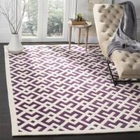 Safavieh Handmade Moroccan Chatham Purple Wool Rug - 7' x 7'