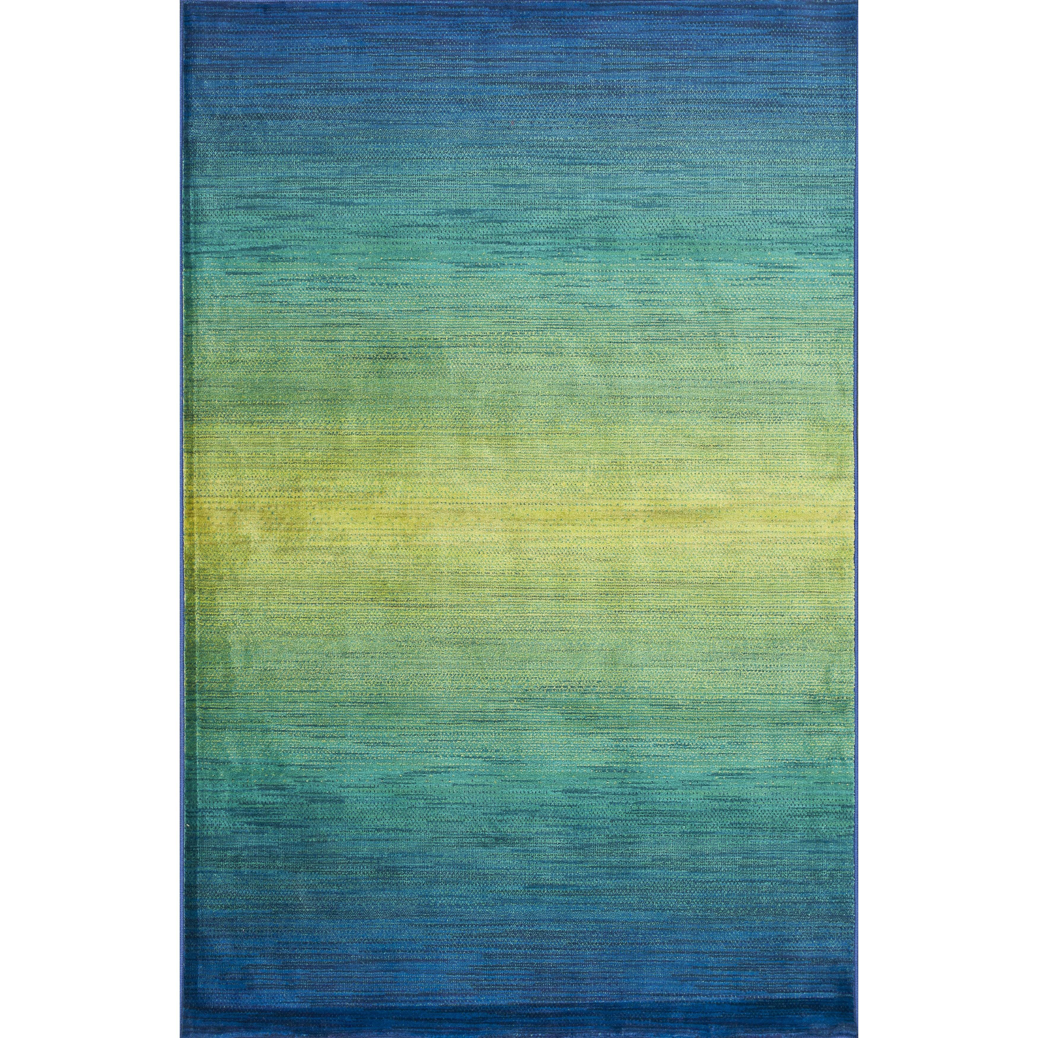 Alexander Home Skye Monet Waterfall Rug (5'2 x 7'7) (Wate...