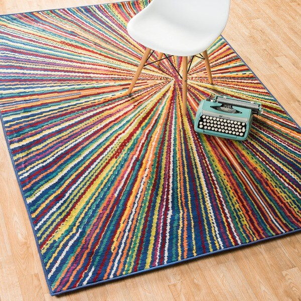 Skye Monet Prism Rug (7'7 x 10'5)