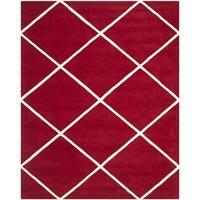 Safavieh Handmade Moroccan Geometric Red Wool Rug - 8' x 10'