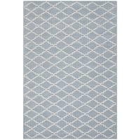 Safavieh Handmade Moroccan Blue Wool Area Rug - 8' x 10'