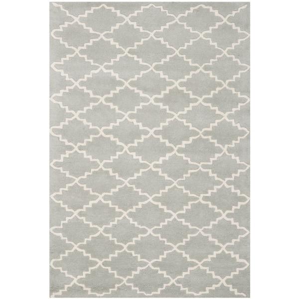 Safavieh Handmade Moroccan Grey Indoor Wool Rug (3' x 5')