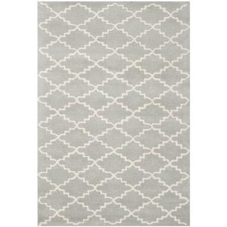 Safavieh Handmade Moroccan Chatham Grey Wool Area Rug (4' x 6')