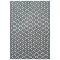Safavieh Rectangle Handmade Moroccan Grey Wool Rug - 5' x 8'