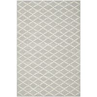 Safavieh Handmade Moroccan Chatham Grey Wool Rug with Durable Backing - 8' x 10'