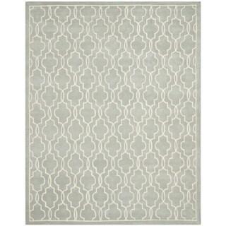 Safavieh Handmade Moroccan Chatham Grey Wool Rug (8' x 10')