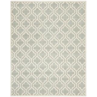 Safavieh Handmade Moroccan Chatham Grey Pure Wool Rug (8' x 10')