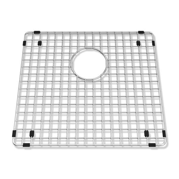 """Prevoir Stainless Steel Kitchen Sink Grid with Strainer Opening (18"""" by 16"""")"""