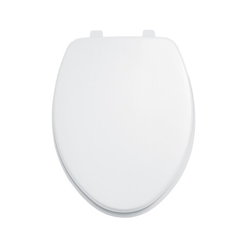 American Standard White Elongated Toilet Seat