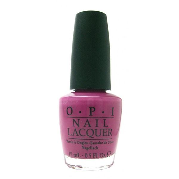 OPI Hong Kong Collection Dim Sum Plum Nail Lacquer