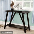 Furniture of America Jellistevy Solid Wood Hall-Entry Way Sofa Table