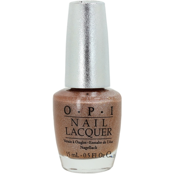 OPI Designer Series Classic Nude Gold Nail Lacquer