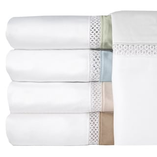 Grand Luxe Duetta Egyptian Cotton Sateen Deep Pocket 300 Thread Count Sheet Set