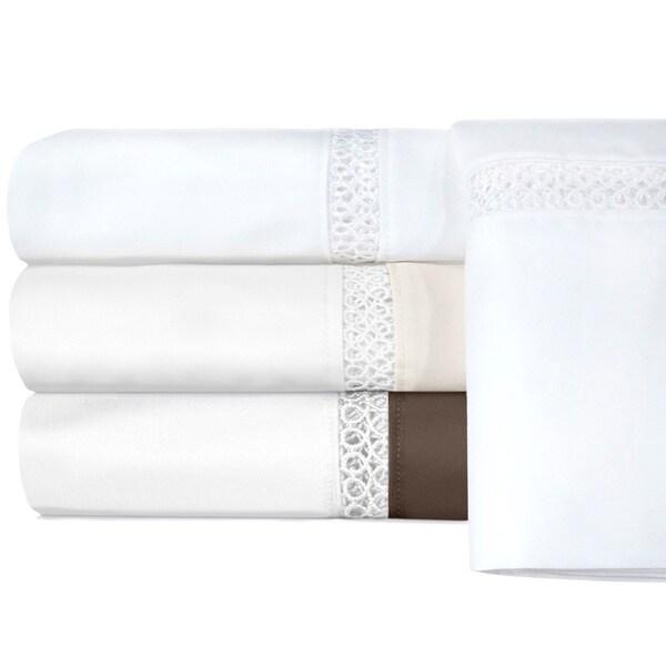 Grand Luxe Duetta Egyptian Cotton Sateen Deep Pocket 800 Thread Count Sheet Set