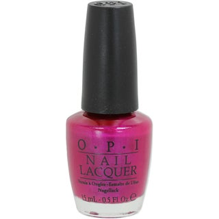 OPI Flashbulb Fuchsia Nail Lacquer