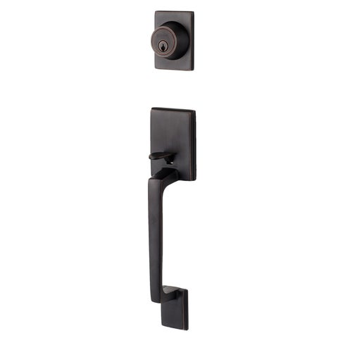 Sure-Loc Vintage Oil-rubbed Bronze Front Entrance Handleset