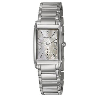 Hamilton Women's 'Ardmore' White Mother-of-Pearl Dial Watch