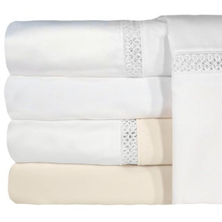 Grand Luxe Duetta Egyptian Cotton Sateen Deep Pocket 1200 Thread Count Sheet Set