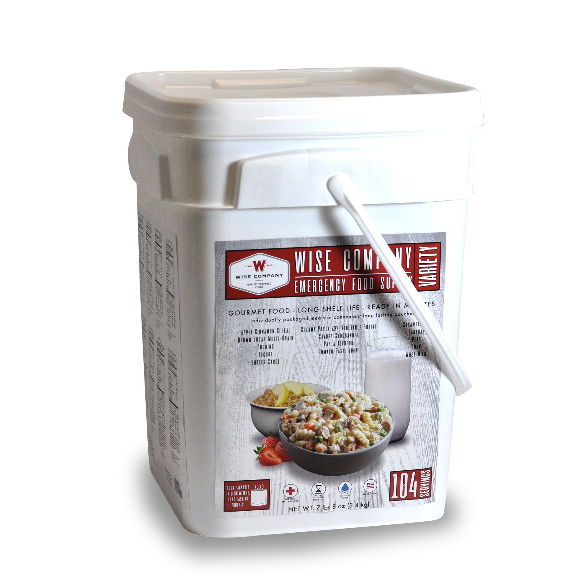 Wise Company Emergency Food Variety Pack (104 servings) (...