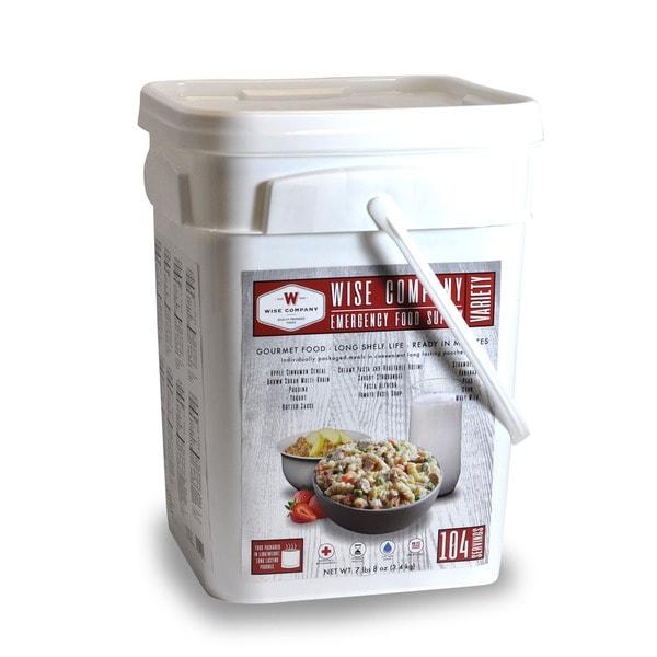 Wise Company Emergency Food Variety Pack (104 servings)