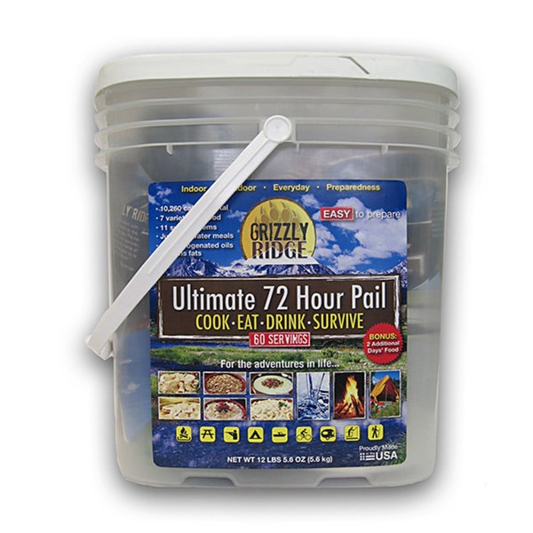 Grizzly Ridge Ultimate 72-hour Pail