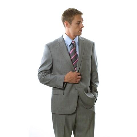Caravelli Men's Shark Pattern 2-button Notch Lapel Suit