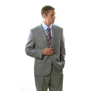 Caravelli Men's Shark Pattern 2-button Notch Lapel Suit