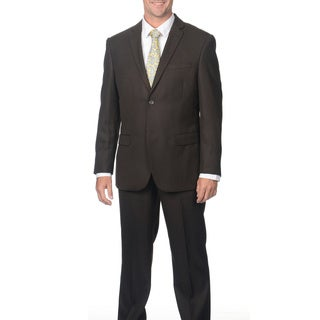 Caravelli Men's 2-button Shark Pattern Suit