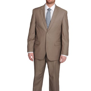 Caravelli Men's Two-button Tonal Stripe Suit with Four Interior Pockets (More options available)