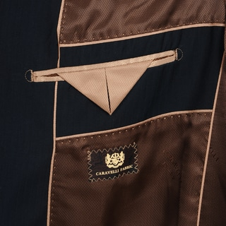 Caravelli Men's 2-button Tonal Stripe Suit