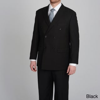 Caravelli Italy Men's Double Breasted Pinstripe Suit