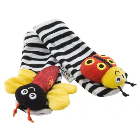 Lamaze High-Contrast Rattle Foot Finders