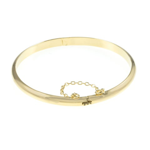 Sterling Silver 7-inch Polished Bangle Bracelet