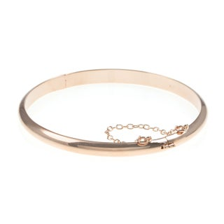 Sterling Silver 7-inch Polished Bangle Bracelet