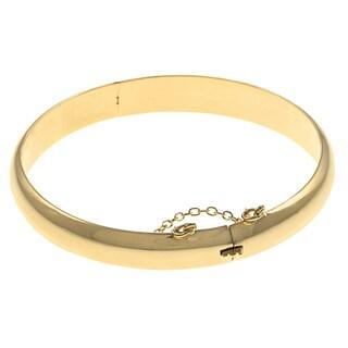 Sterling Essentials Silver 7-inch Polished Bangle Bracelet