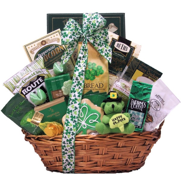 Great Arrivals Luck O' The Irish Large St. Patrick's Day Gourmet Gift Basket