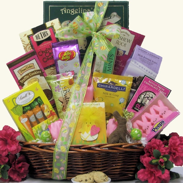 Divine Easter Sweets Large Chocolate & Sweets Easter Gift Basket