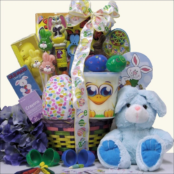 Hoppin' Easter Fun Boy's Easter Basket (Ages 3 to 5 Years Old)