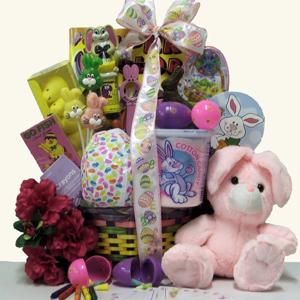 Hoppin' Easter Fun Girl's Easter Basket (Ages 3 to 5 Years Old)