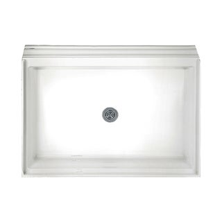 American Standard Acrylic Single Threshold White Shower Base